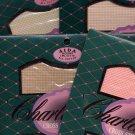 Lot of 4 Charles Craft 14 Aida Cloth NIP Peach Beige Blush Natural 12x18