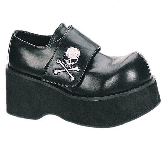 """""""Dank"""" - Women's Shoes with Skull Design Velcro Strap"""