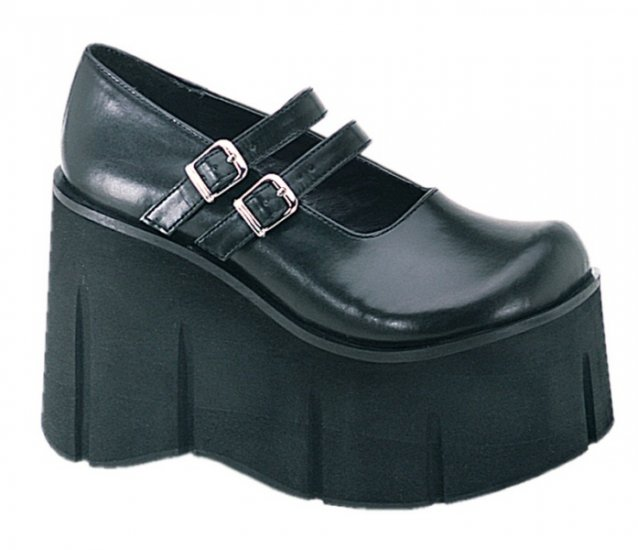 """Kera"" - Women's Double Strap Wedge Platform Shoes"