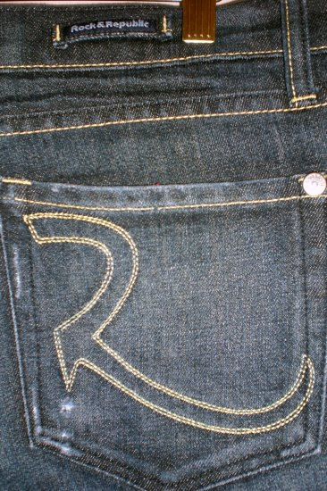Rock&Republic Dark Denim Flare Jeans - 30