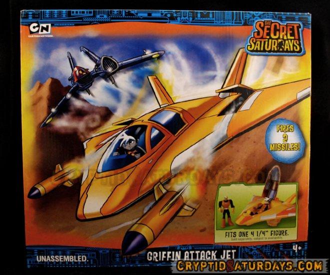 The Secret Saturdays -  Griffin Attack Jet Vehicle