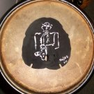 Sax Man Hand Painted Sand Dollar