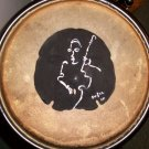 Bass-ically Speaking Hand Painted Sand Dollar