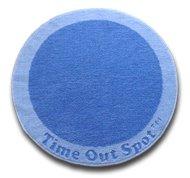 Circular Blue Time Out Spot