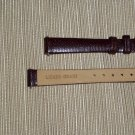 Genuine Lizard Grain Women's Watchband Size 12mm