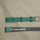 Genuine Lizard Calf Women's Watchband Size 11mm
