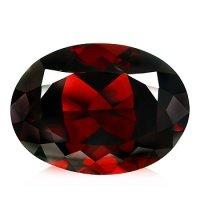 2.38ct Natural Spessartite Red Garnet Oval VS