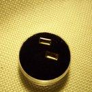1.74ct Pair of Natural Rectangular Cushion Cut Golden Imperial Topaz VVS