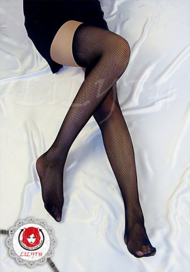 Lilyth High Quality Hot classical ultimate seduction FishNet tight Stocking - Black SK35