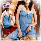 Fee Sexy High quality gauze babydoll lingerie lady underwear women sleepwear nightwear G string FS74