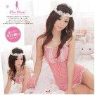Alio Moon Best quality Sweet babydoll lingerie ladies underwear sleepwear nightwear G string AM07