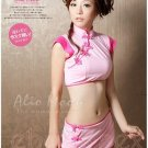 Alio Moon Best quality Hot Sexy Cute Chinese Cheongsam Costume Cosplay coat Lingerie AM24