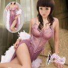 FeeSexy High quality Elastic lace babydoll lingerie sexy underwear women sleepwear G string FS152