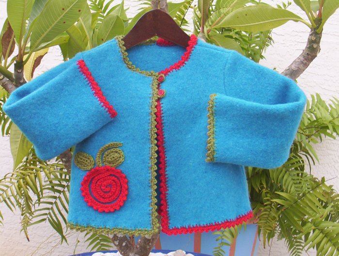 GREEN APPLE RED APPLE Sweater