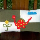 Dino Wool Felt Pillow