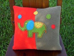 FUNNY ELEPHANT Pillow