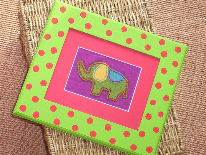 FUNNY ELEPHANT Framed