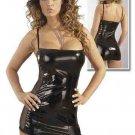 Vinyl PVC Mini Dress