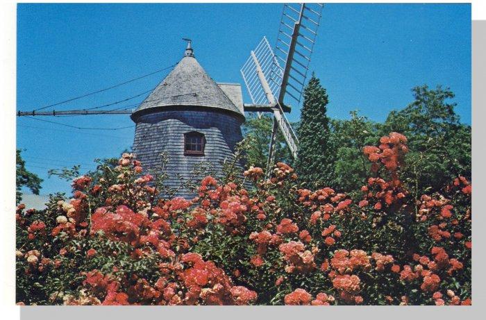 Nice EASTHAM, MASS/MA POSTCARD, Windmill/Cape Cod
