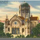 ST. AUGUSTINE, FLORIDA/FL POSTCARD, Flagler Church