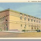 MEMPHIS, TENNESSEE/TN POSTCARD, Auditorium, Near Mint!