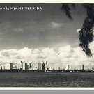 MIAMI, FLORIDA/FL POSTCARD, Skyline,Black & White Photo