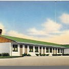 HOLDREGE, NEBRASKA/NE POSTCARD, The Plains Motel, 1954