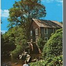 BREWSTER, MASS/MA POSTCARD, Old Grist Mill, Cape Cod