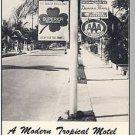 KEY WEST, FLORIDA/FL, Southwind Motel Brochure,50's?