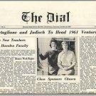 1960 HAMDEN, CONN/CT HIGH SCHOOL NEWSPAPER, The Dial