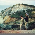 MARTHA'S VINEYARD, MASS/MA POSTCARD, Cliffs, Cape Cod