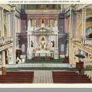 NEW ORLEANS, LOUISIANA/LA POSTCARD, St Louis Cathederal