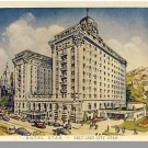 Striking SALT LAKE CITY, UTAH/UT POSTCARD, Hotel Utah