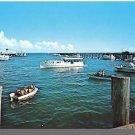 PROVINCETOWN, MASS/MA POSTCARD, P'town Harbor, Cape Cod
