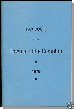 LITTLE COMPTON, RHODE ISLAND/RI, Vintage Tax Book, 1976