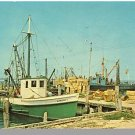 LONG ISLAND, NEW YORK/NY POSTCARD, Shinnecock Bay/Boats