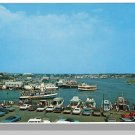 Nice HYANNIS, MASS/MA POSTCARD, Hyannis Harbor/Cape Cod