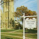 WILLIAMSTOWN, MASS/MA POSTCARD, Williams College/Hall