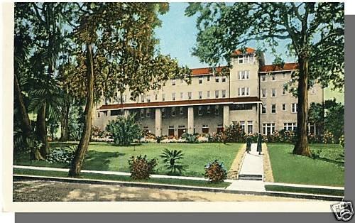 Early WINTER PARK, FLORIDA/FL POSTCARD, Hotel Alabama