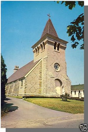 NIANTIC, CONN/CT POSTCARD, St. Agnes Catholic Church