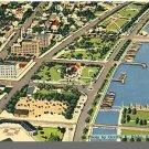 ST. PETERSBURG, FLORIDA/FL POSTCARD, Aerial/Waterfront