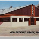 OLD ORCHARD BEACH, MAINE/ME POSTCARD,The Barn Nightclub