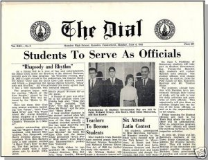 1962 HAMDEN, CONN/CT HIGH SCHOOL NEWSPAPER, The Dial