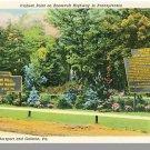 COUDERSPORT/GALETON, PENN/PA POSTCARD,Roosevelt Highway