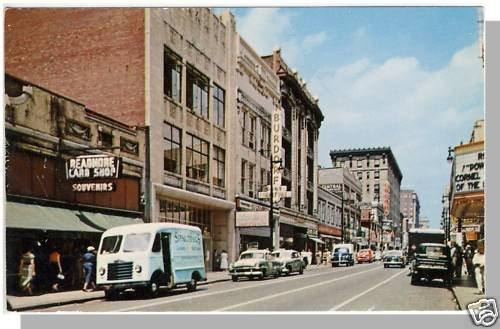LOUISVILLE, KENTUCKY/KY POSTCARD,Fourth Street/Downtown