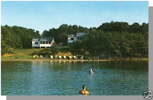 CHATHAM, MASS/MA POSTCARD, Pilgrim Village, Cape Cod