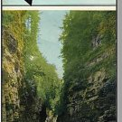 Stunning AUSABLE CHASM, NEW YORK/NY  BROCHURE, 1960's?