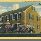 NORTH BREWSTER, MASS/MA POSTCARD, Old Cape Cod House