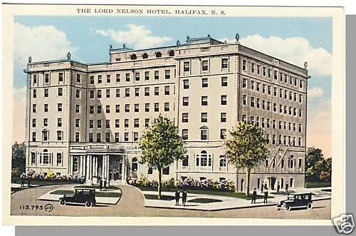 HALIFAX, NOVA SCOTIA, CANADA POSTCARD,Lord Nelson Hotel