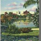 ORLANDO, FLORIDA/FL POSTCARD, Lake Eola Park